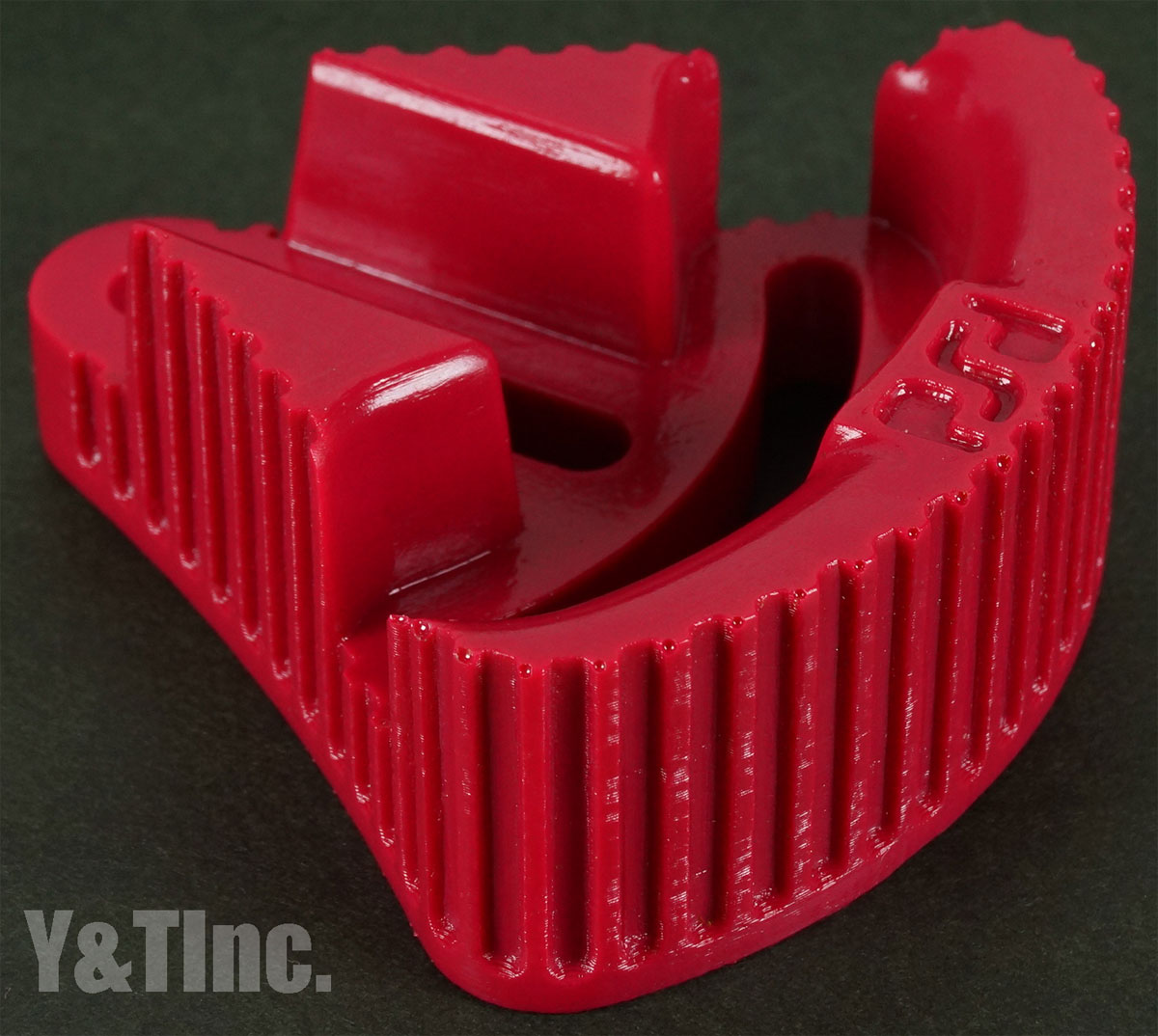 RIPTIDE FOOTSTOP IN-OUT CONVEX CONCAVE RED 1
