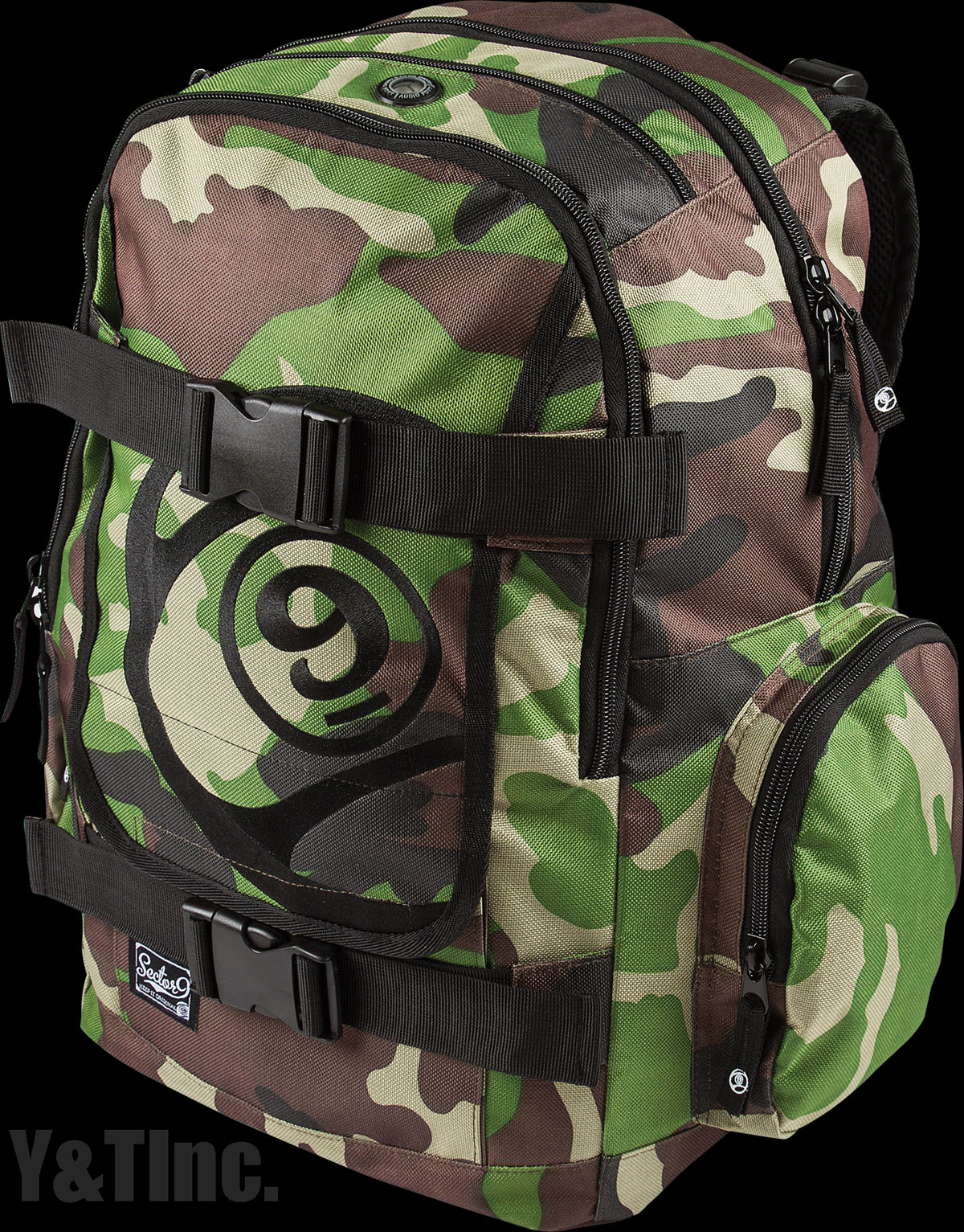 SECTOR9 FIELD BACKPACK CAMO 1