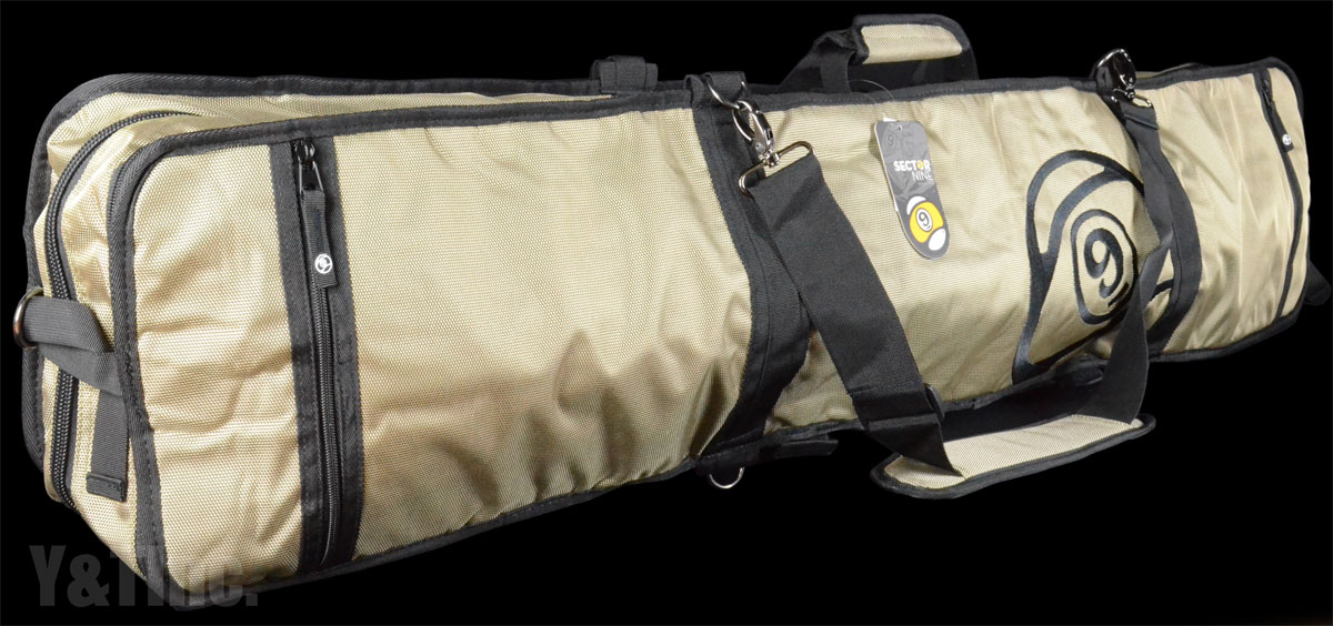 SECTOR9 FIELD BAG GOLD 1