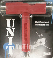 UNIT T-TOOL RED SILVER