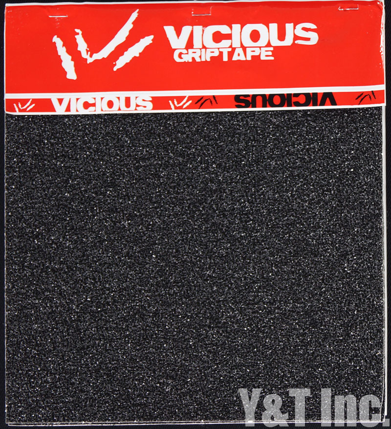 VICIOUS GRIPTAPE 4PC BLACK 11x10 1