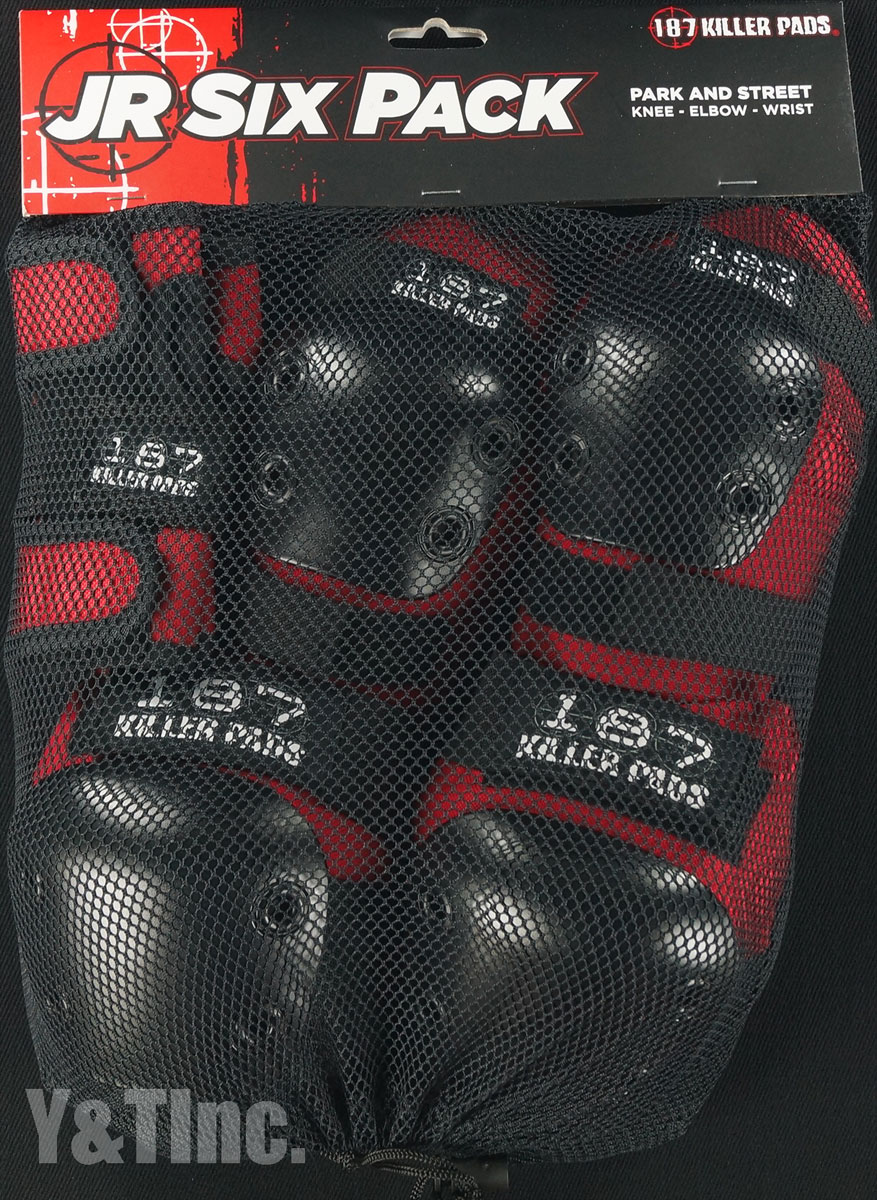 187 JR SIX PACK Red 1