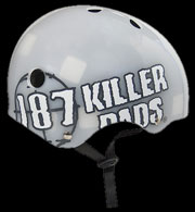 187 HELMET CLEAR BIG LOGO XL