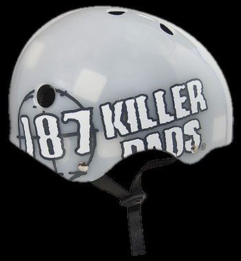187 HELMET CLEAR BIG LOGO L 1
