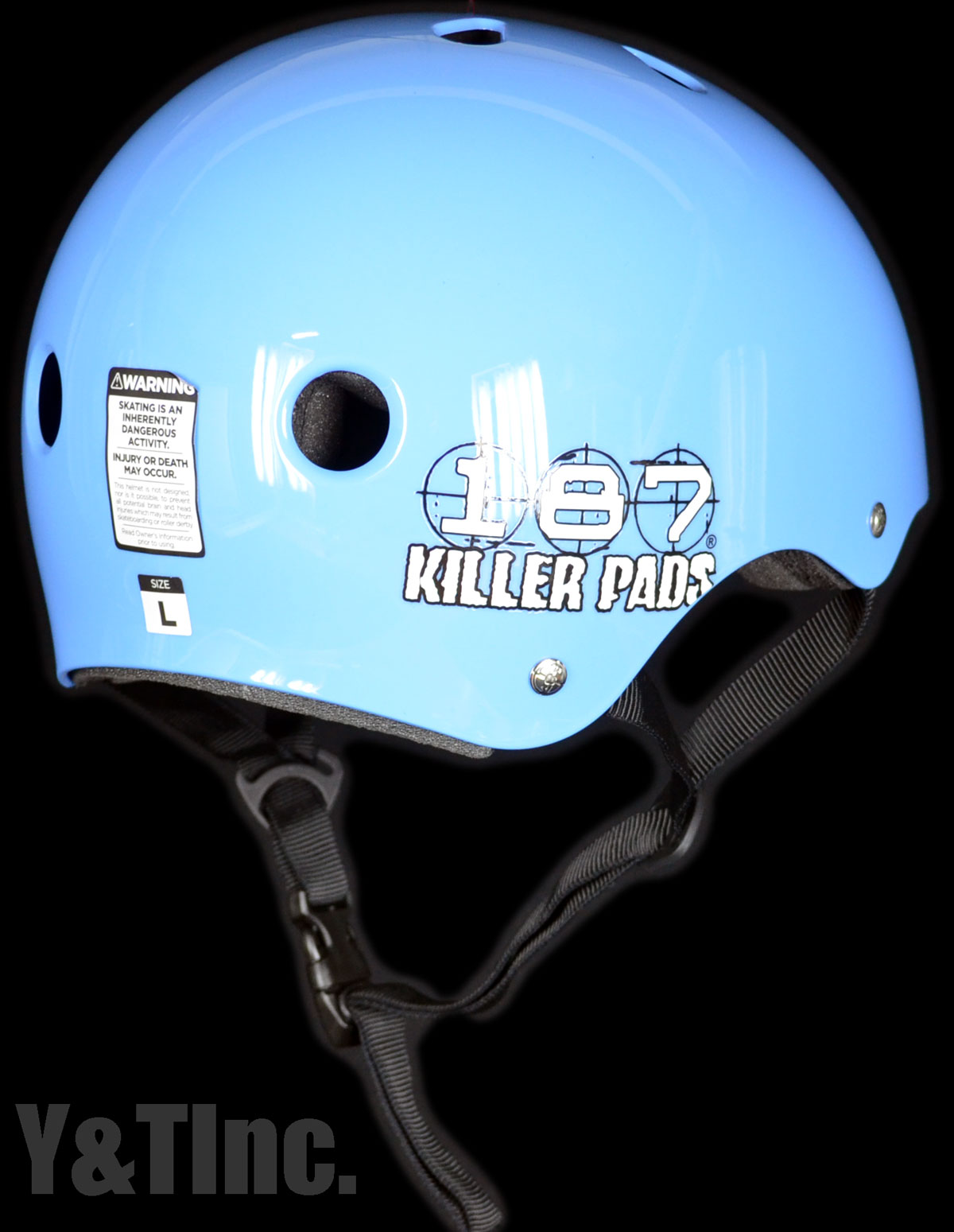 187 HELMET LIGHT BLUE XL 2
