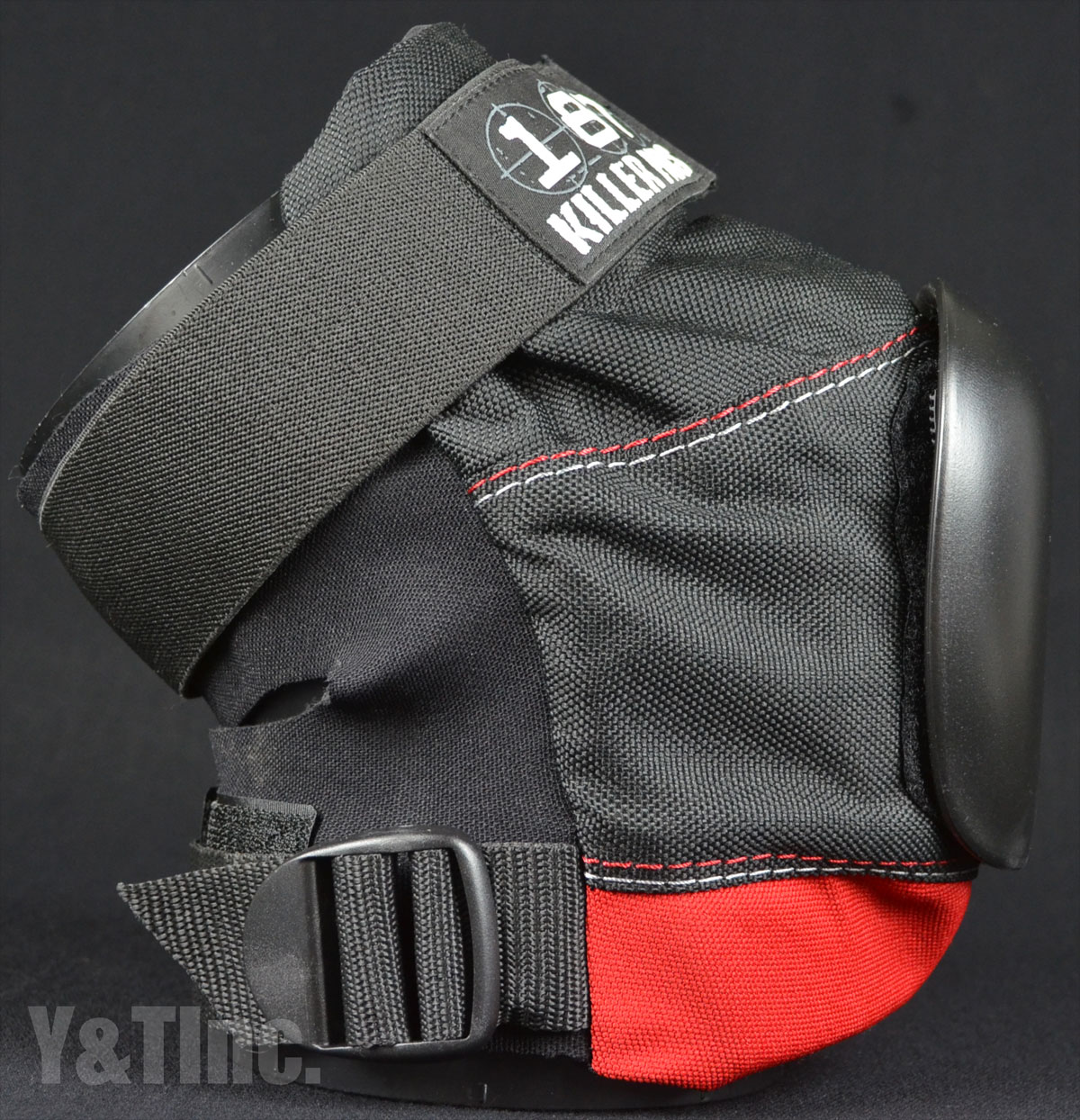 187 PRO DERBY BLACK RED M 2