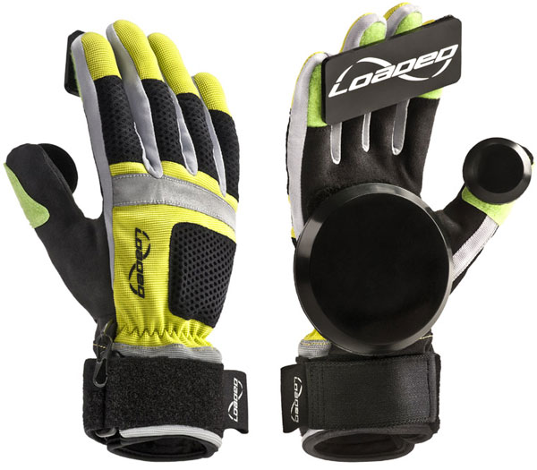 LOADED FREERIDE GLOVES YELLOW S-M 1