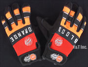 BLOOD ORANGE SLIDE GLOVES KNUCKLES S-M