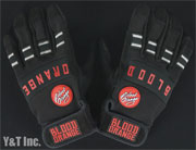 BLOOD ORANGE SLIDE GLOVES KNUCKLES Black Black S-M