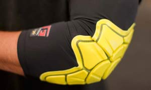 G-FORM ELBOW YELLOW XL 1
