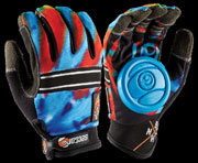 SECTOR9 BHNC SLIDE GLOVES ACID BLUE S-M