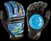 SECTOR9 BHNC SLIDE GLOVES HAWAIIAN S-M
