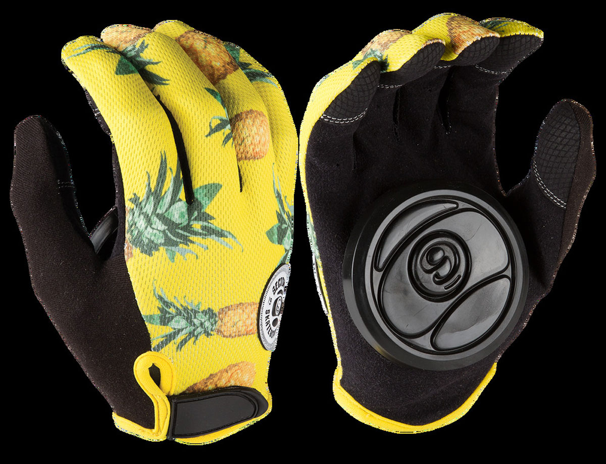 SECTOR9 RUSH SLIDE GLOVES YELLOW S 1