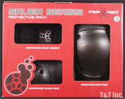TRIPLE 8 SAVER SERIES WRIST KNEE ELBOW SET S