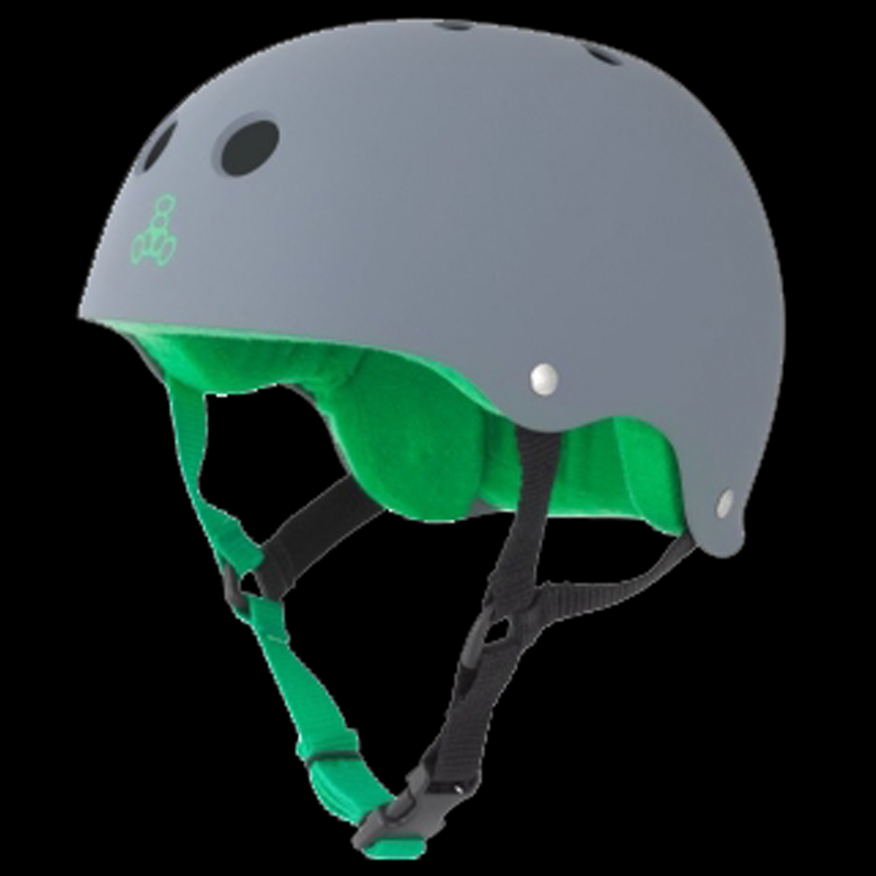 TRIPLE 8 HELMET SWEATSAVER CARBON RUBBER XL 1