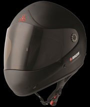 TRIPLE 8 HELMET T8 Racer II Black Rubber L-XL