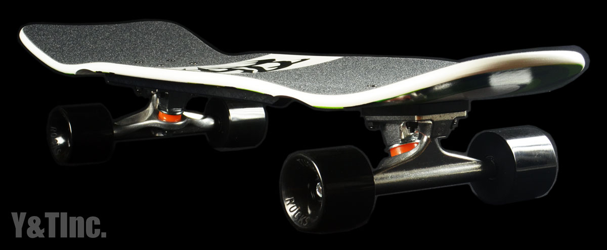 ALVA MODERN AGGRESSION FISH White Green Indy149 Tunnel63mm 1