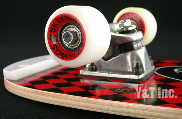 SK8KINGS FREESTYLE JESTER RETRO RED 1