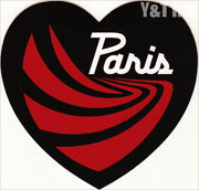 PARIS TRUCK HEART BLACK 120