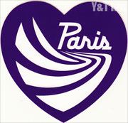 PARIS TRUCK HEART PURPLE 120