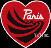 PARIS TRUCK HEART RED 120