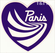 PARIS TRUCK HEART PURPLE 100