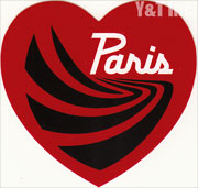 PARIS TRUCK HEART RED 100