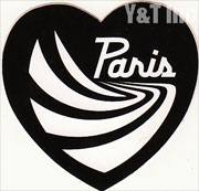 PARIS TRUCK HEART BLACK 58