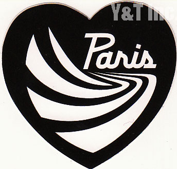 PARIS TRUCK HEART BLACK 58 1