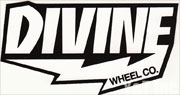 DIVINE WHEEL CO WHITE TEXT