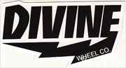 DIVINE WHEEL CO BLACK TEXT