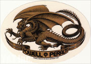 POWELL PERALTA OVAL DRAGON GOLD