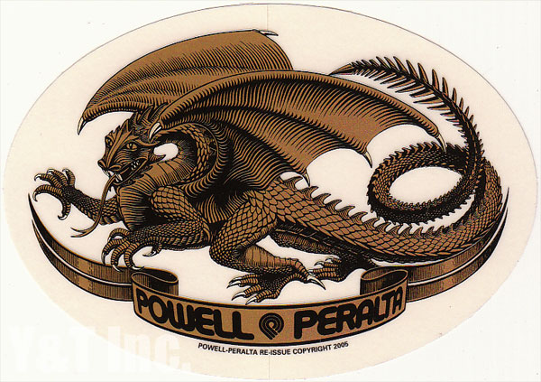 POWELL PERALTA OVAL DRAGON GOLD 1