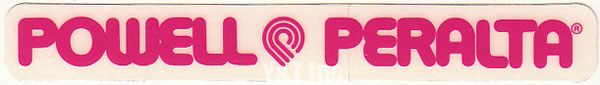 POWELL PERALTA LOGO PINK 1