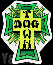 Dogtown GREEN CROSS M