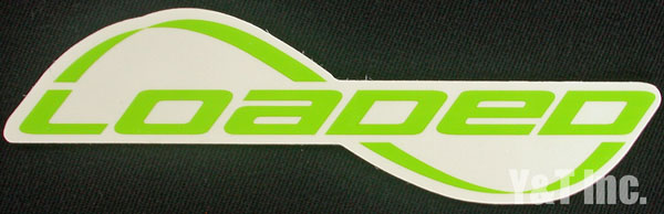 LOADED LOGO TEXT LIME 1