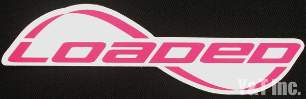 LOADED LOGO TEXT PINK 1