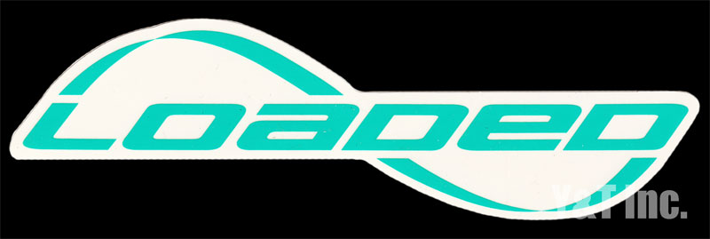 LOADED LOGO TEXT TURQUOISE 1