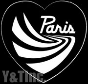 PARIS TRUCK HEART 58 BLACK