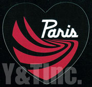 PARIS TRUCK HEART 4 BLACK