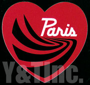 PARIS TRUCK HEART 4 RED