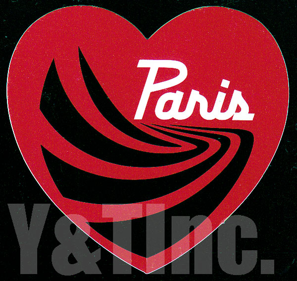 PARIS TRUCK HEART 4 RED 1