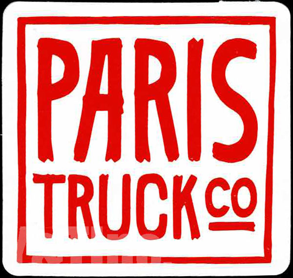 PARIS TRUCK CO SQUARE 53 RED 1