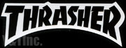 THRASHER DIECUT 143x52 BLACK
