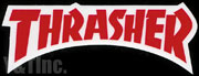 THRASHER DIECUT 143x52 RED