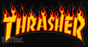 THRASHER DIECUT 263x134 BLACK
