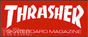 THRASHER 152x63 RED