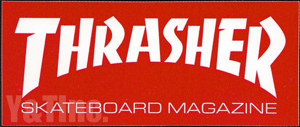 THRASHER 152x63 RED 1