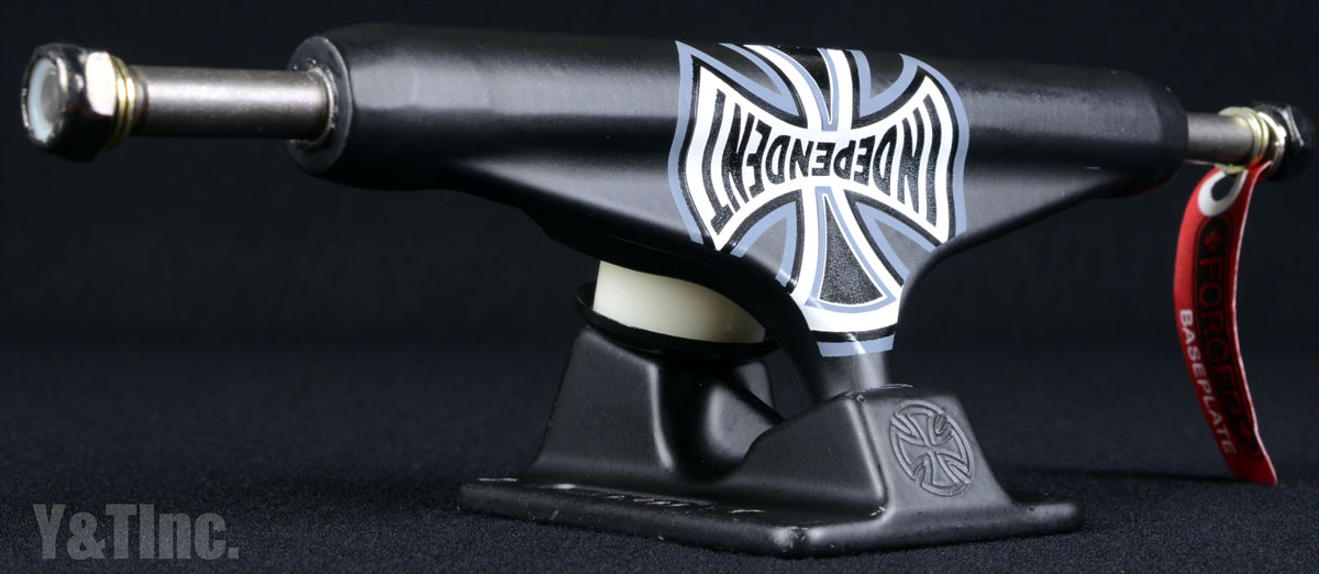INDEPENDENT 149 ST11 FORGED TITANIUM TRUCK CO BLK 1