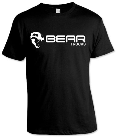 BEAR BLACK T-SHIRTS M 1